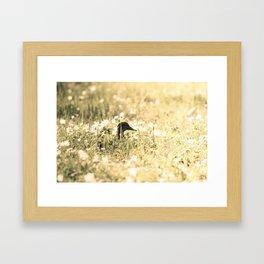 Looking upp Framed Art Print