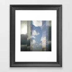 Northern Sky Fragments 6 Framed Art Print