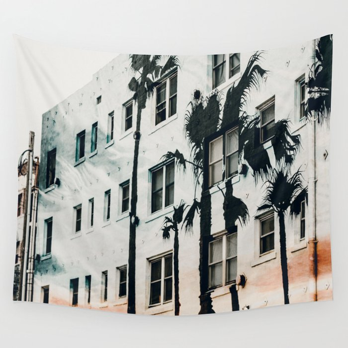palm mural venice ii Wall Tapestry