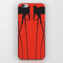 Salvador Dali Elephants iPhone Skin
