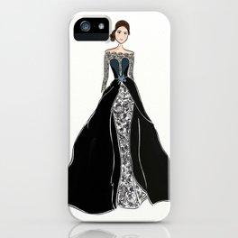 Iriana Batik Fashion Illustration iPhone Case
