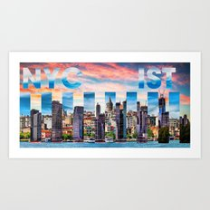 NYC-IST Art Print
