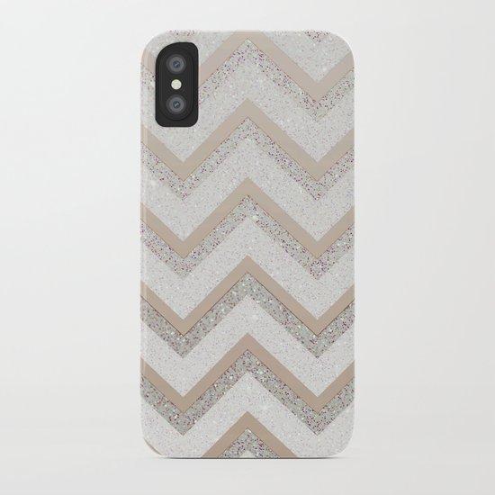 NUDE CHEVRON iPhone Case