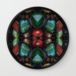 Eyes For Vladimir Wall Clock