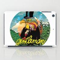 gentleman iPad Cases featuring Gentleman by dogooder