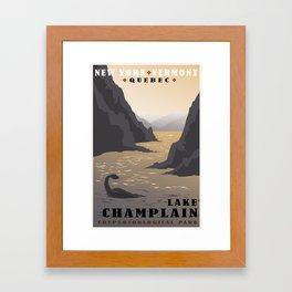 CPS: Lake Champlain Framed Art Print