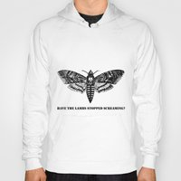 silence of the lambs Hoodies featuring The lambs by Nightwatcher