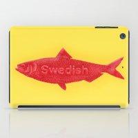 swedish iPad Cases featuring Swedish Fish by Chase Kunz