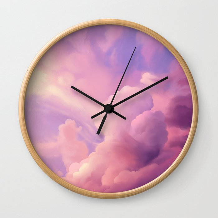 Clouds 1 Wall Clock