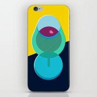 wine iPhone & iPod Skins featuring Wine by Sam Osborne