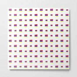 Flag of Armenia 3 - handmade Metal Print