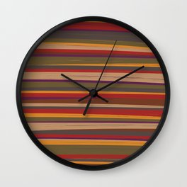 Fourth Doctor Scarf Wall Clock