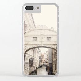 Bridge of Sighs Dream Clear iPhone Case