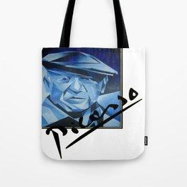 Picasso's Signature  Tote Bag