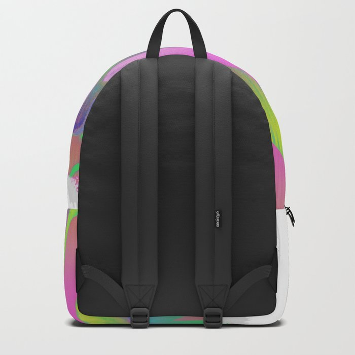 To Be Or Not To Be In Pink Backpack