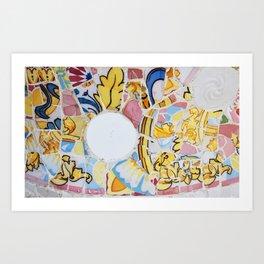 Gaudi - Park Güell Art Print