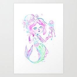 Medusette Art Print