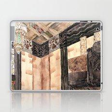 inside the Art Deco spaceship Laptop & iPad Skin