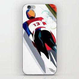 Team USA Olympics 2018 Luge iPhone Skin
