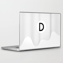 Fourth of the alphabet Laptop & iPad Skin