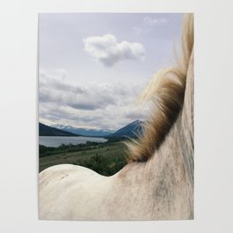 Horse Back Poster