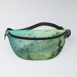 Mountain Morning Fanny Pack