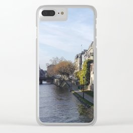 Strasbourg france Clear iPhone Case