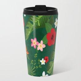 Tropical Flower Background IV Travel Mug