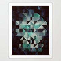 noir Art Prints featuring noir? by Spires