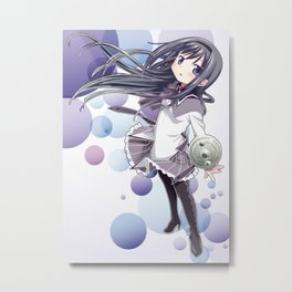 Homura Akemi Metal Print