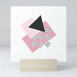 Pink - Abstract Mini Art Print