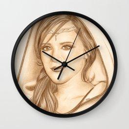 Elf Lady Wall Clock