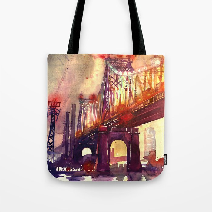 Queensboro Bridge Tote Bag