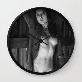 Nude 24 Wall Clock