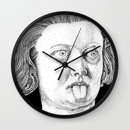 Costanza's Tongue Wall Clock