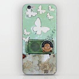 Grandpa's Radio - madewithunicorndust by Natasha Dahdaleh iPhone Skin