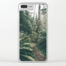 Happy Trails XVIII Clear iPhone Case