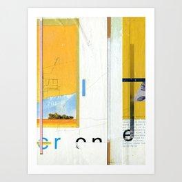 Petrock Art Print