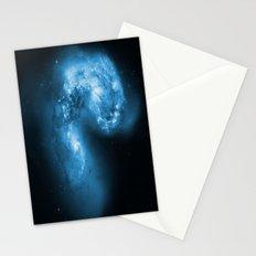 Blue Galaxy Stationery Cards