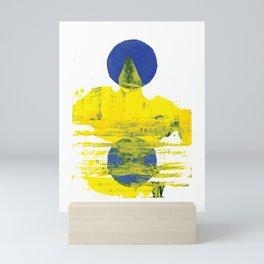 Yellow Mountain Mini Art Print