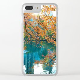 Magical Fall Clear iPhone Case