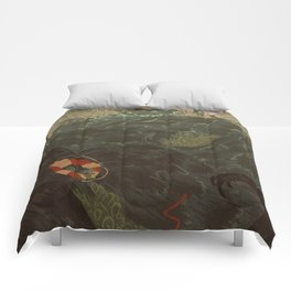Lost At Sea Comforters