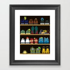 Mr.Toad's New Neighbours Framed Art Print