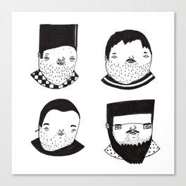 Busts 1° Part Canvas Print