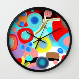 Bailamos Wall Clock
