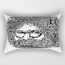 Jerry Garcia Rectangular Pillow
