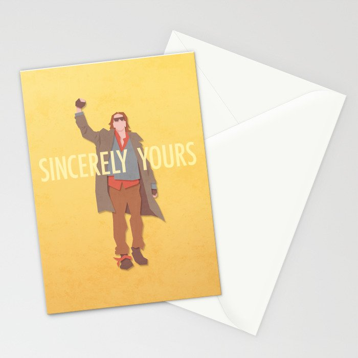 Sincerely Yours (The Breakfast Club) Stationery Cards
