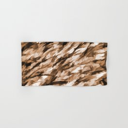 Beige on Beige Designer Camo pattern Hand & Bath Towel