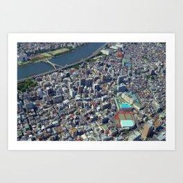 Tokyo-01 Art Print