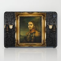 tim shumate iPad Cases featuring Tim Minchin - replaceface by replaceface